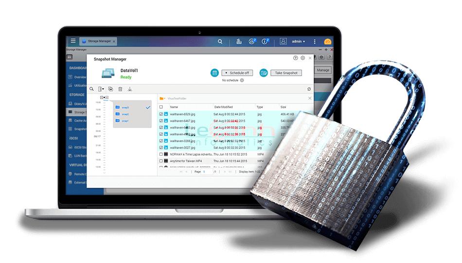 Ransomware vs QNAP