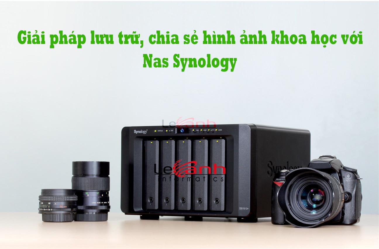 lưu trữ hình ảnh với nas synology