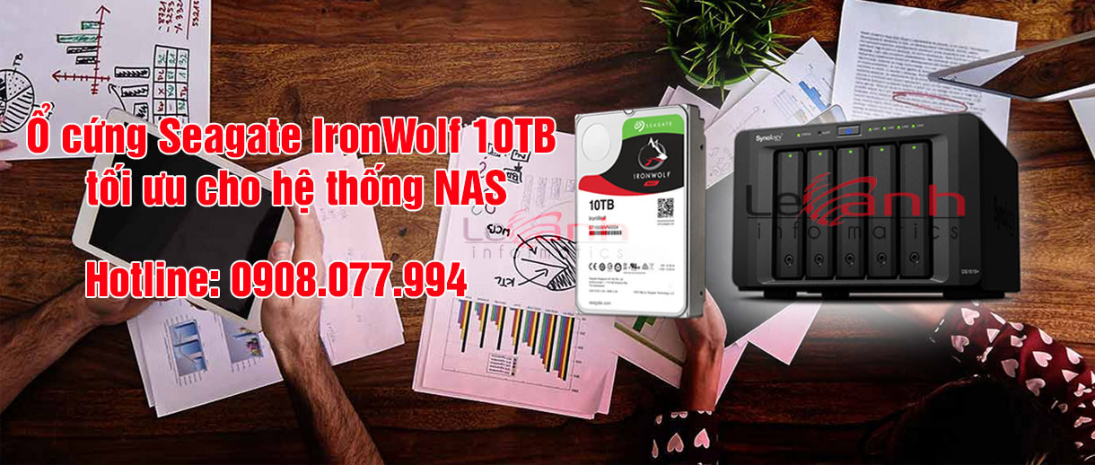 ổ cứng seagate ironwolf